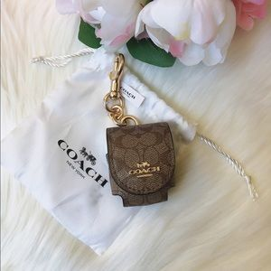 Coach Airpod Case Bag Charm